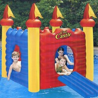 Water Sports Inflatable Cool Castle Floating Swimming Pool Toy: SWIM 9083 Christmas Central Home Decor and Outdoor Living