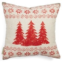Vintage Merry Christmas Pillow