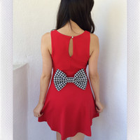 Perfect Tones Dress- Red