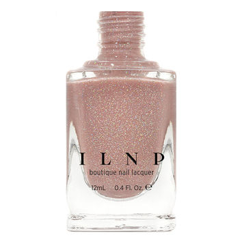 Sandy Baby - Peach Beige Holographic Sheer Jelly Nail Polish