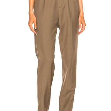 Lanvin Low Crotch Trousers in Sand | FWRD