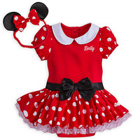 Minnie Mouse Costume Bodysuit for Baby - Red - Personalizable | Disney Store