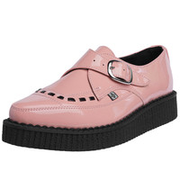 Peachy Keen Pink Patent Creeper