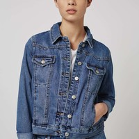 MOTO Denim Western Jacket | Topshop