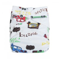 1 reusable Bamboo Baby Cloth Diaper+ 1 bamboo Insert BS15