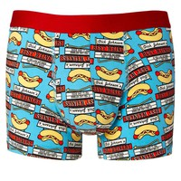 ASOS | Asos Trunks With Weiner Print at ASOS