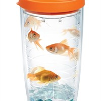 Goldfish with Lid   16oz Tumbler   Tervis®