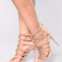 Hate That You  Want Me Heel - Taupe