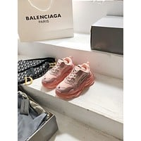 Balenciaga Triple-s  Woman's Men's 2020 New Fashion Casual Shoes Sneaker Sport Running Shoes