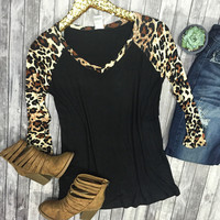 Move Along Cheetah Print Top