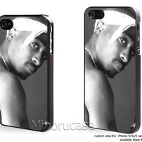 TUPAC SHAKUR Custom case For iphone 4/4s,iphone 5,Samsung Galaxy S3,Samsung Galaxy S4 by minorucase on etsy