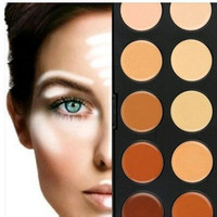 Professional MAC 10 Concealer Makeup Palette Camouflage
