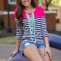 Page 6 Boutique - First Mate Top