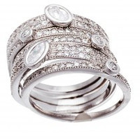 5Pcs Tish Ring