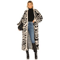 Out and About Cardi Tigre Knit