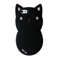 Lovely Cat Soft Phone Shell Case for Iphone5/5s