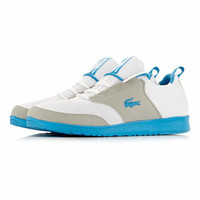 Lacoste White Blue Mesh - View All Shoes - Shoes and Accessories