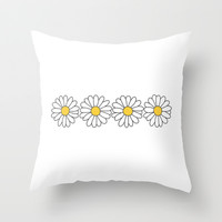 Sunflowers Throw Pillow by hayimfabulous