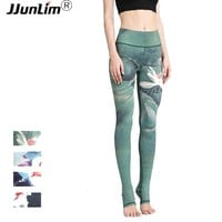 Women Sexy Yoga Pants Printed Dry Fit