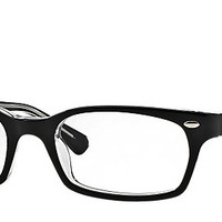 Ray-Ban RB5150 2034 50-19 RB5150 Black eyeglasses | Official Online Store US
