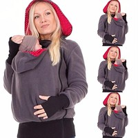 Baby Carrier Kangaroo Hoodies