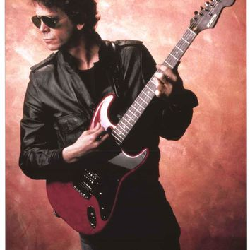 Lou Reed New York 1983 Poster 24x33