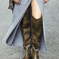 Free People Womens Stargazer Tall Boot