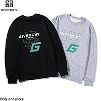 Givenchy hot print alphabet long-sleeved tops fashion casual hoodies