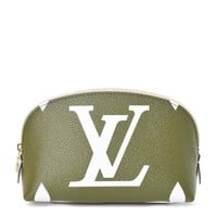 Louis Vuitton Giant Monogram Cosmetic Pouch Kaki