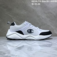 DCCK C022 Champion 93 Eighteen Sneaker Ratro Casual Running Shoes White Black
