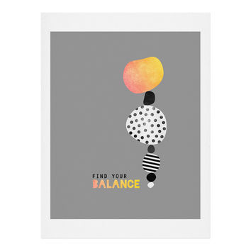 Elisabeth Fredriksson Find Your Balance Art Print