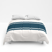Varsity Stripes Comforters by Urban Exclaim Co.