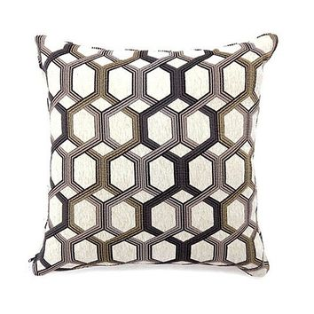 Comney Contemporary Large Pillow, Gray