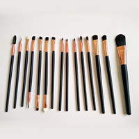 15 pcs/Sets Brushes for eyes Women Fashion &Convenient Makeup Brushes Tool Design