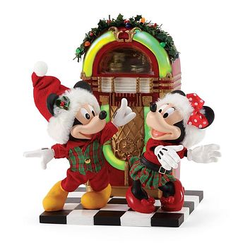 Dept. 56 - Mickey and Minnie Jingle Bell Swing - 6006013