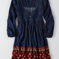AEO Women's Smocked Flowy Dress