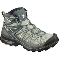 Salomon Women's X Ultra Mid 3 Aero W Hiking 9 Shadow/Urban Chic/Bleached Sand