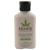 Herbal Moisturizer Body Lotion- Blushing Grapefruit & Raspberry Creme 2.25 Oz