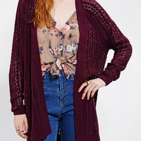Urban Outfitters - Kimchi Blue Open-Stitch Cardigan