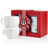Starbucks Holiday Cocoa for Two Gift Set