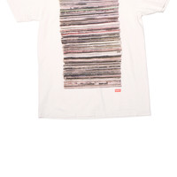 Records T-shirt Dirty White