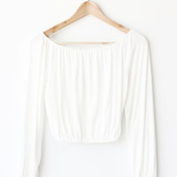 Eleanor Shoulder Top