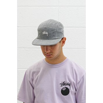 Stock Washed Canvas Camp Cap in Grey