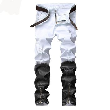 Black And White ~Hip Hop Jeans