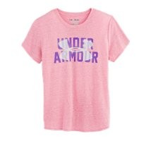 Under Armour Girls' UA Tri-Blend Branded T-Shirt