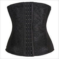 Body Sexy Shaper Waist Lace Steel Boned Slim Palace Skinny Corset [4965345348]