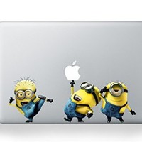 Yellow Cartoon Character Decal Sticker for Macbook Laptop Air Pro Retina 13 14 15 Inch Cool