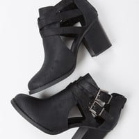 Double Buckled Ankle Booties