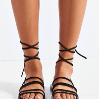 Strappy Suede Sandal | Urban Outfitters