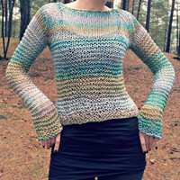 Wave Chunky Knit Sweater / Fall Sweater / Limited edition / Sizes XS-XL